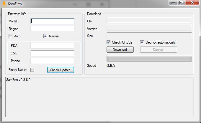 Downloading-Samsung-Stock-Firmware-using-SamFirm-Tool