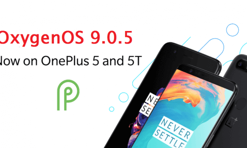 Download OxygenOS 9.0.5 For OnePlus 5T / OnePlus 5 April Security Patch 1