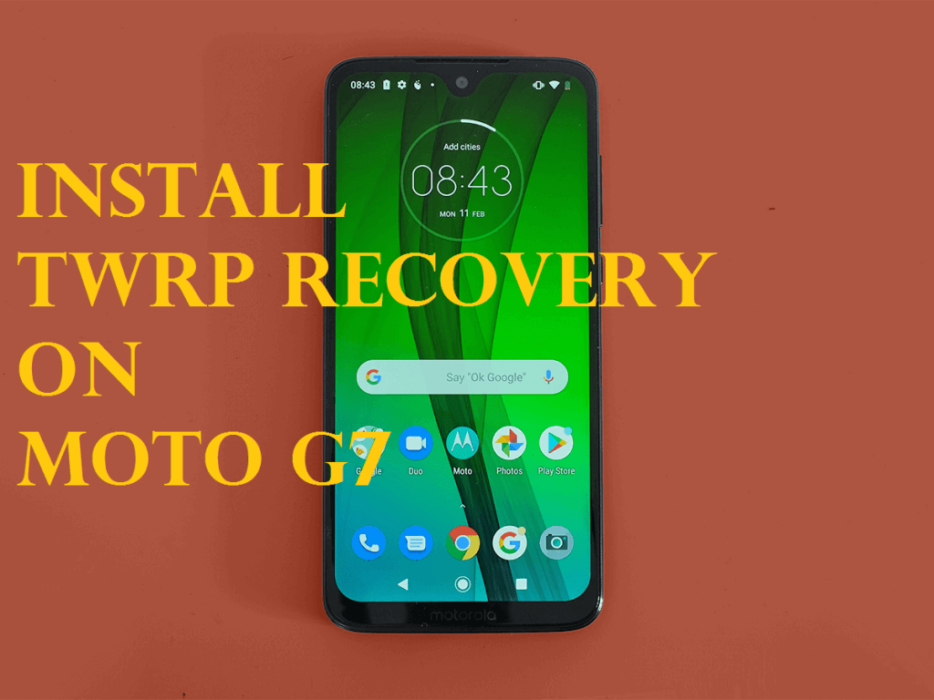 Download And Install Unofficial TWRP Recovery On Moto G7