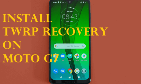 Download And Install Unofficial TWRP Recovery on Moto G7 10