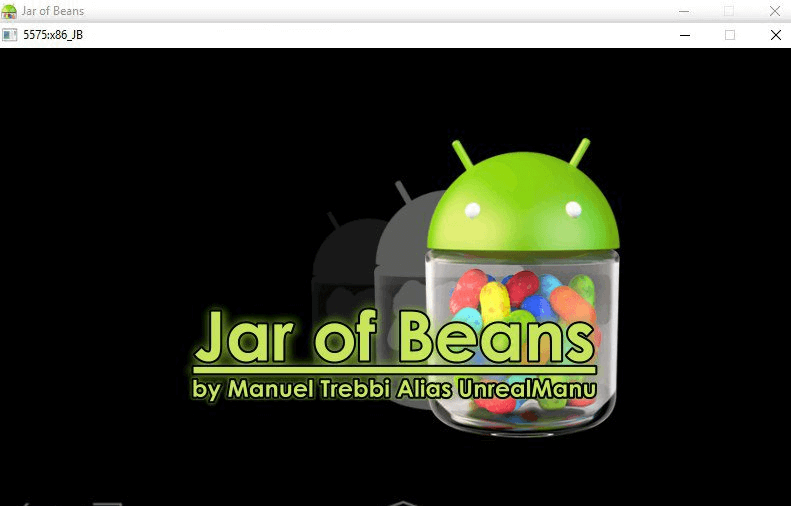 Jar of Beans lightweight android emulator for PC