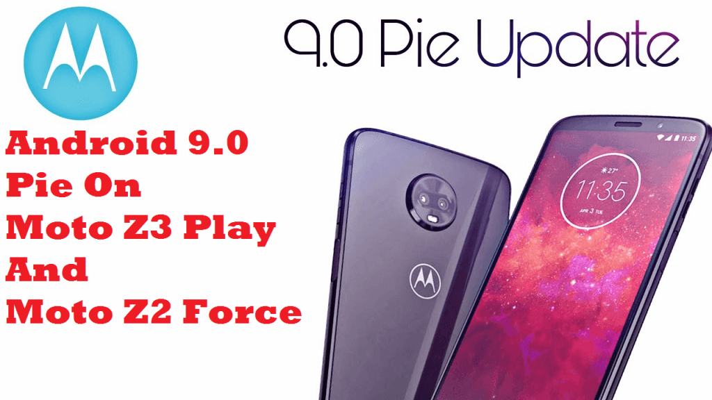 Android 9.0 Pie on Moto Z3 Play