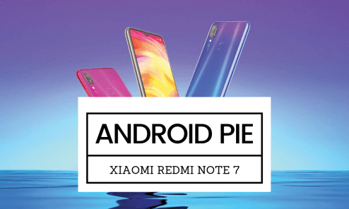 Download Android 9 Pie AOSPExtended on Redmi Note 7