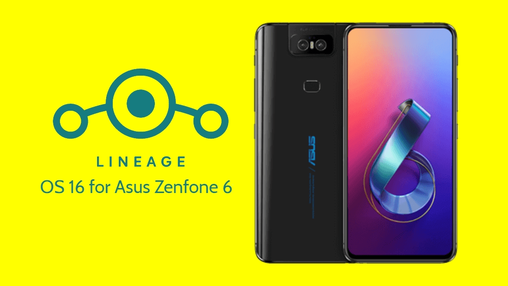 Lineage OS 16 for ASUS ZenFone 6