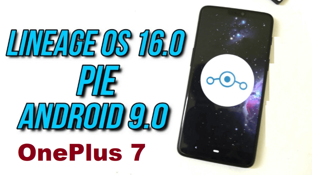 Lineage OS 16 on OnePlus 7