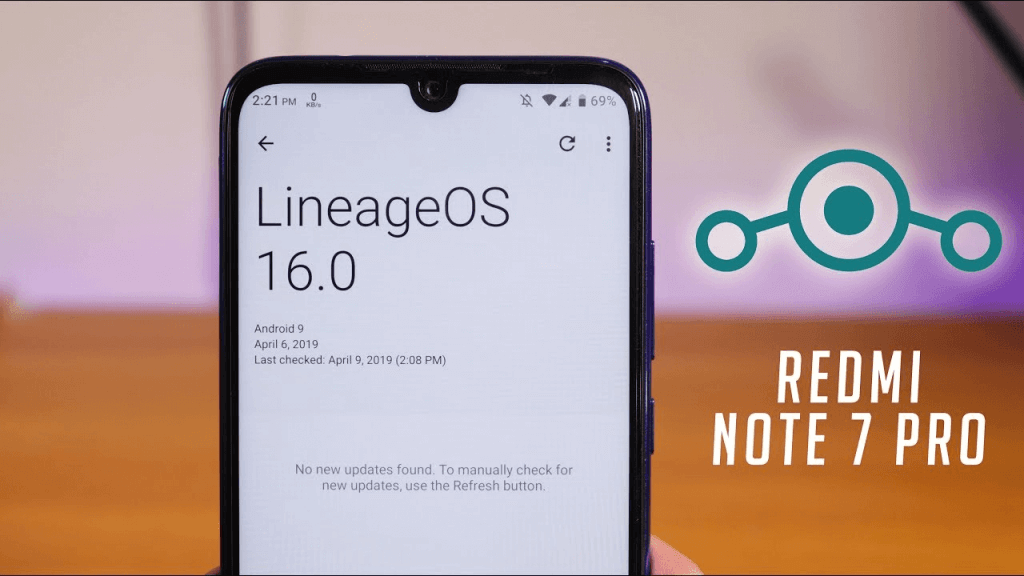 official Lineage OS 16 on Redmi Note 7 Pro
