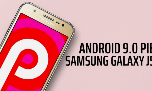 Android Pie for Galaxy J5 2017