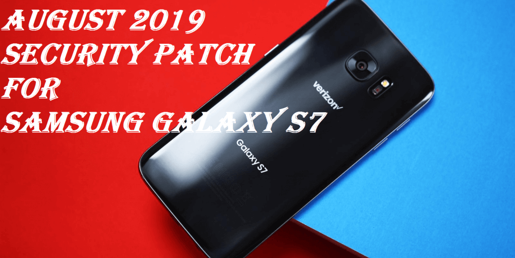 August 2019 security patch