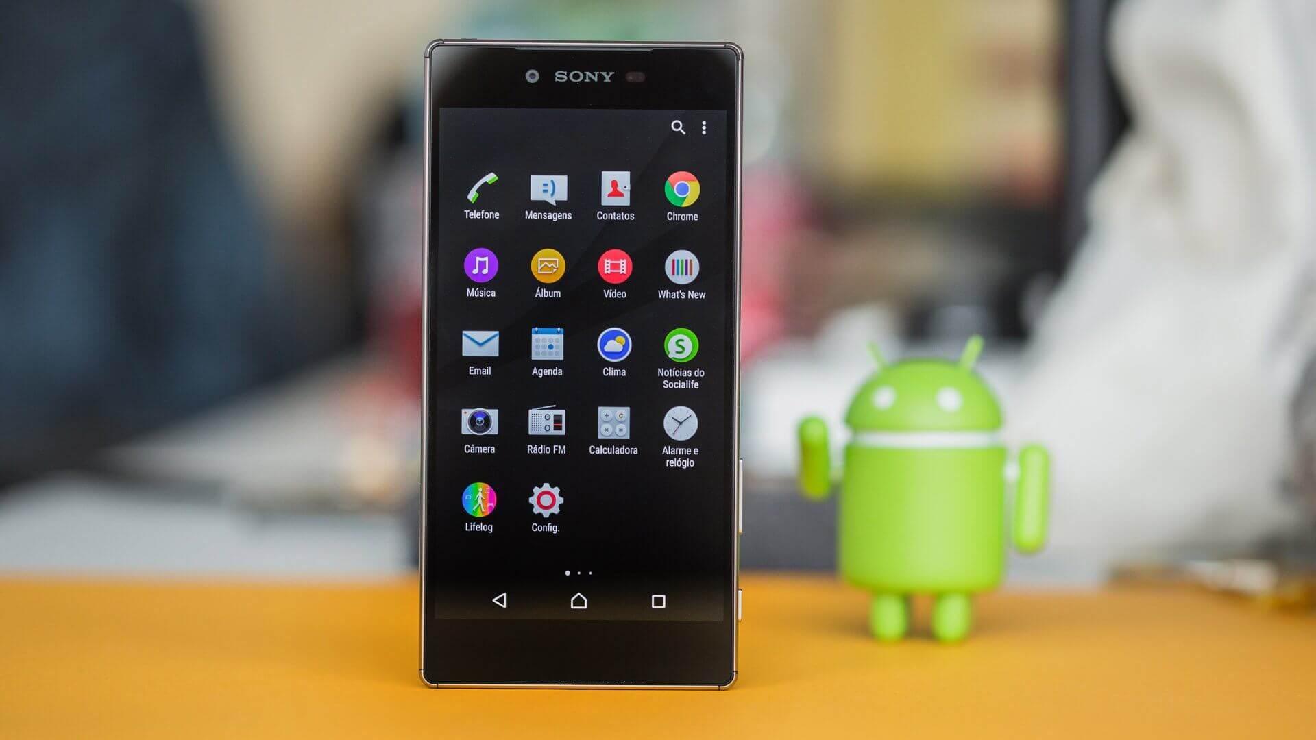 Install Android 7.1.1 MROM 2.8 Nougat Custom ROM on Xperia Z5 Premium