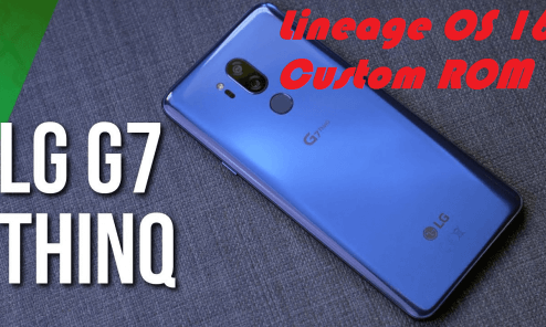 Lineage OS 16 on LG G7 ThinQ