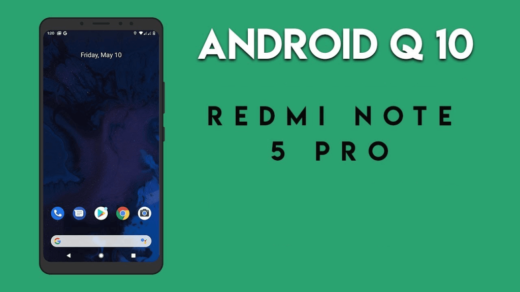 Android 10 for Redmi Note 5 Pro