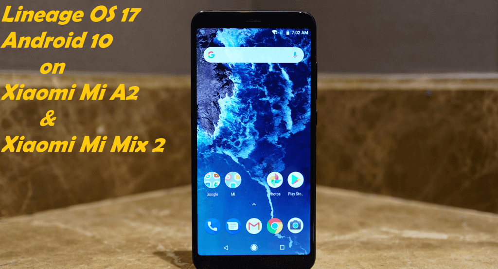 Android 10 on Xiaomi Mi A2