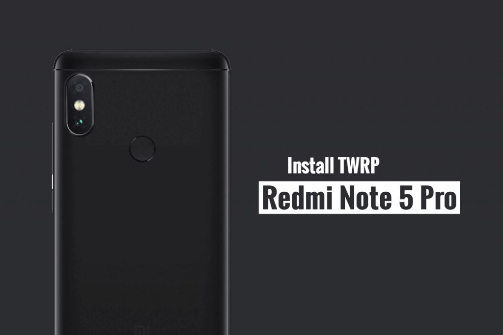 TWRP recovery on Realme 5 Pro