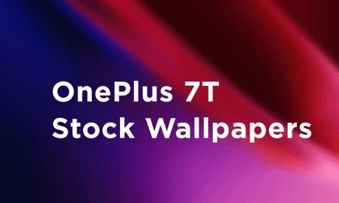 download OnePlus 7T stock Wallpapers