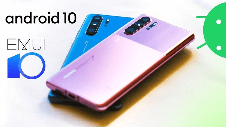 Android 10 for Huawei P30