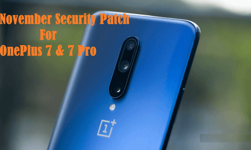 November security patch for OnePlus