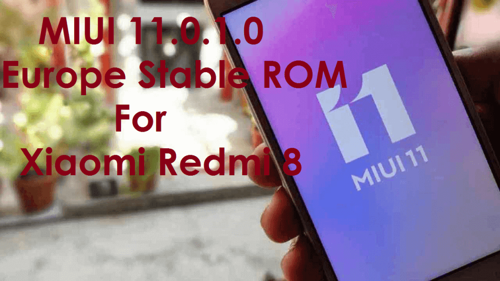 Stable ROM for Xiaomi Redmi 8
