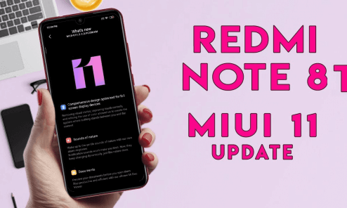 MIUI 11.0.2.0 Stable ROM for Redmi Note 8T