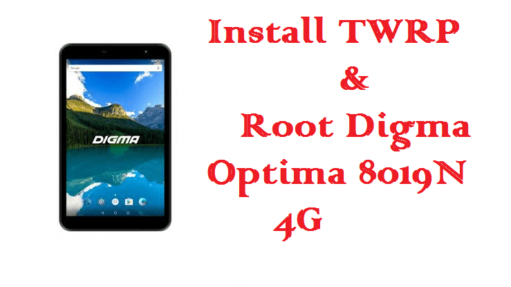 root Digma Optima 8019N 4G