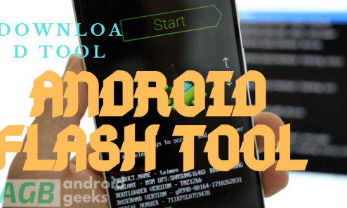 Android flash tool