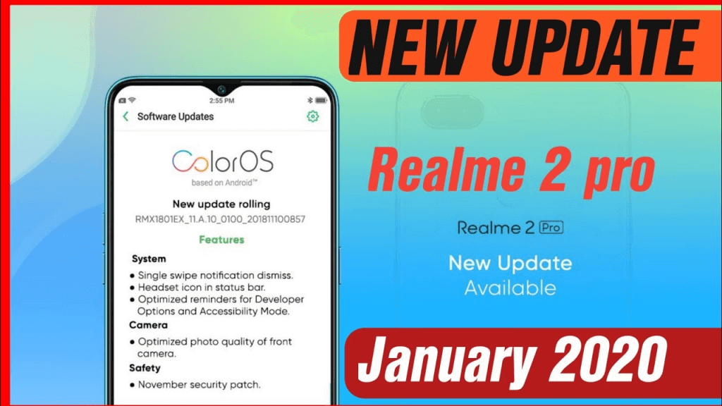 Download And Install January 2020 Security Patch For Realme 2 Pro 2