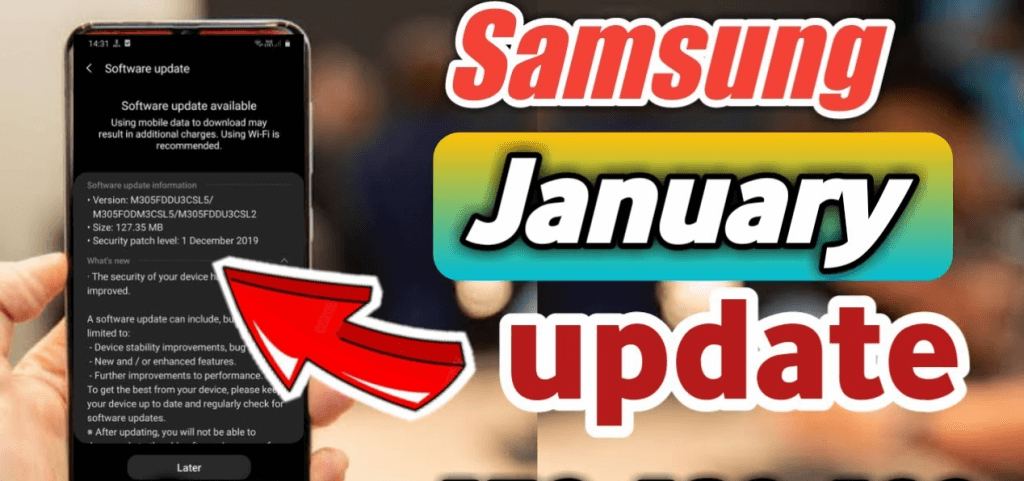 January 2020 security patch for Galaxy