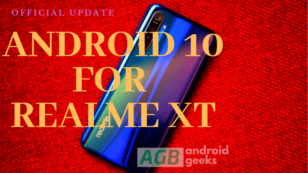 stable Android 10 for Realme XT