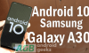Android 10 for Galaxy A30