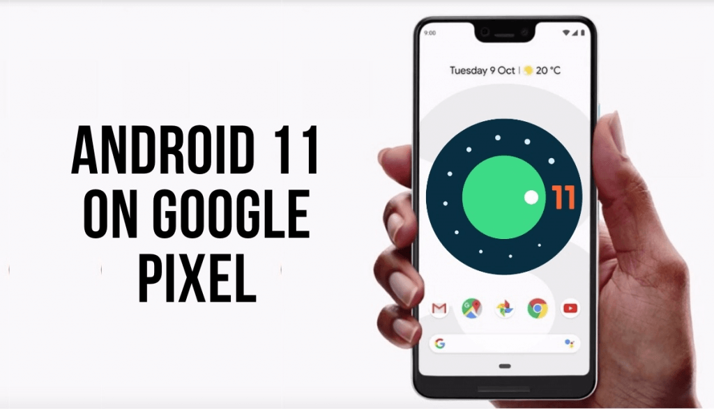 Android 11 developer preview for Google Pixel