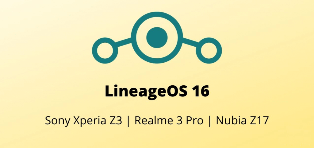 Lineage OS 16 for Realme 3 Pro