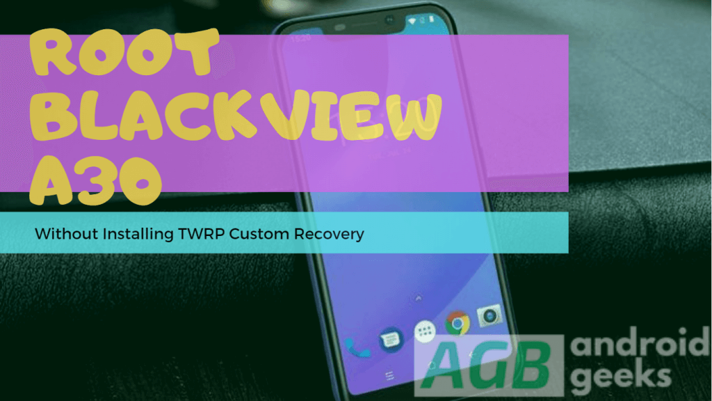 root Blackview A30