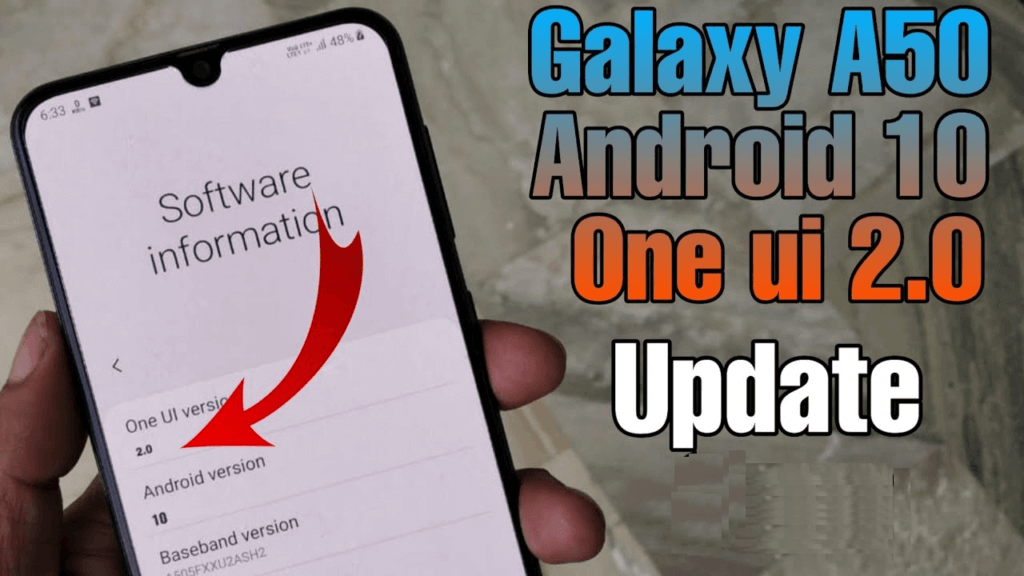 Android 10 for Galaxy A50
