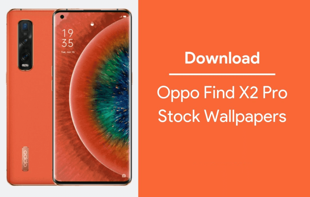 stock wallpaper for Oppo Find X2 Pro