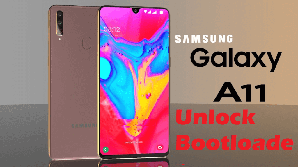 unlock the bootloader on Galaxy A11