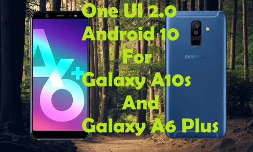 Android 10 for Galaxy A