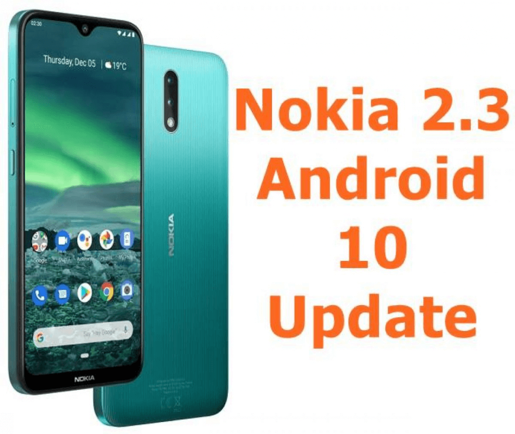 Android 10 for Nokia 2.3