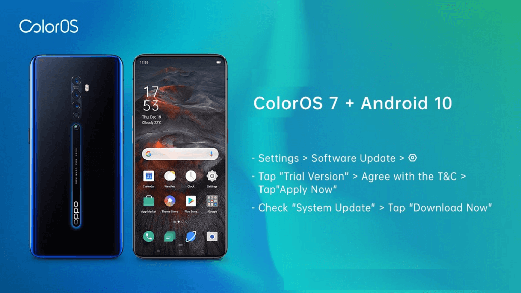 Android 10 for OPPO