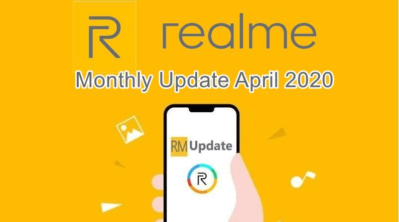 April 2020 security patch for Realme
