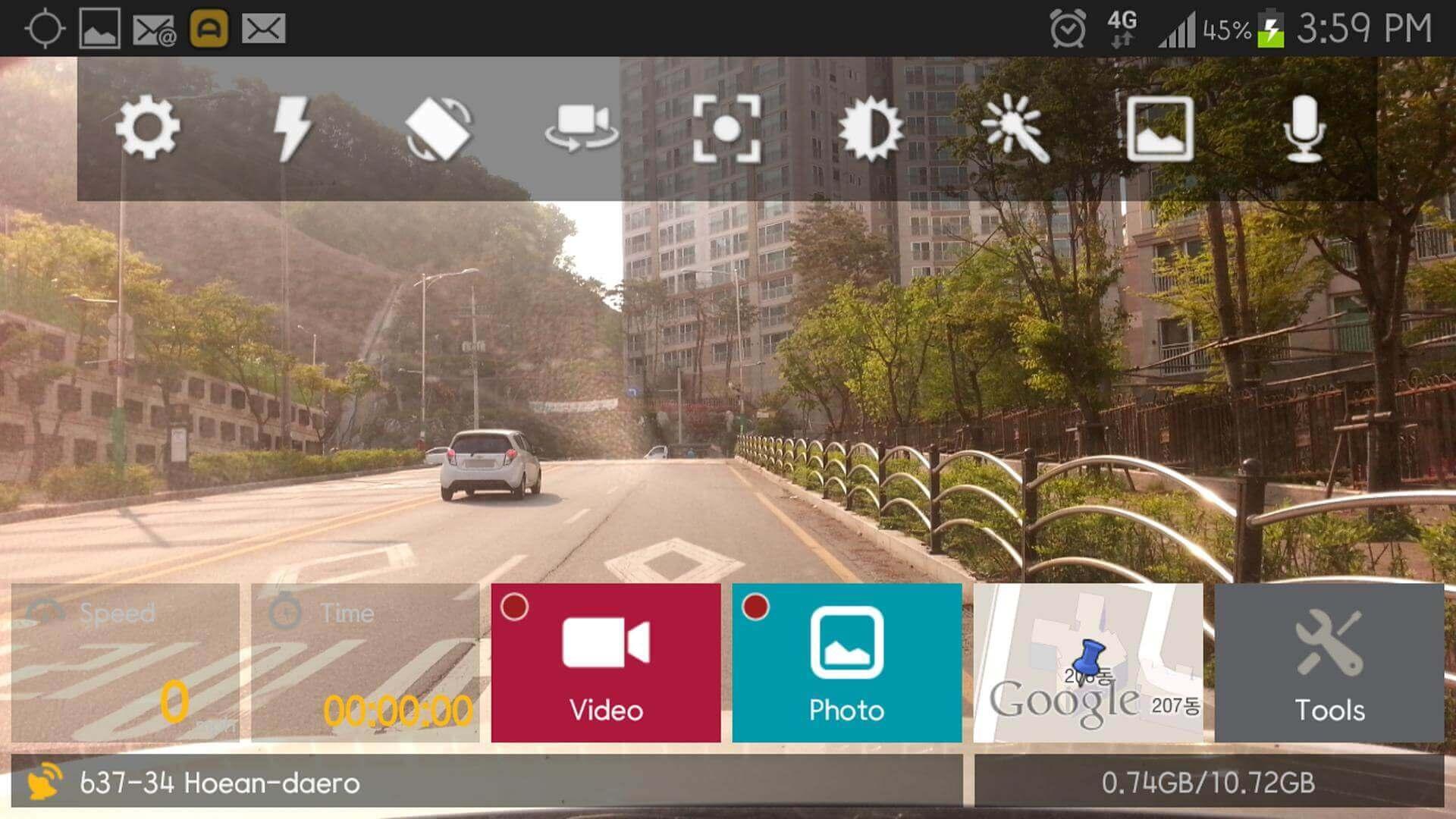 AutoBoy Dash Cam app