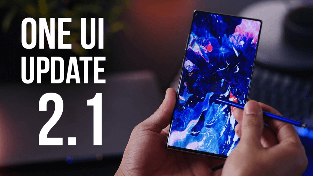 One UI 2.1 update for Galaxy Note 10 Lite