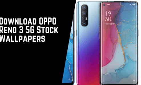 Oppo Reno 3 Pro 5G official stock wallpapers