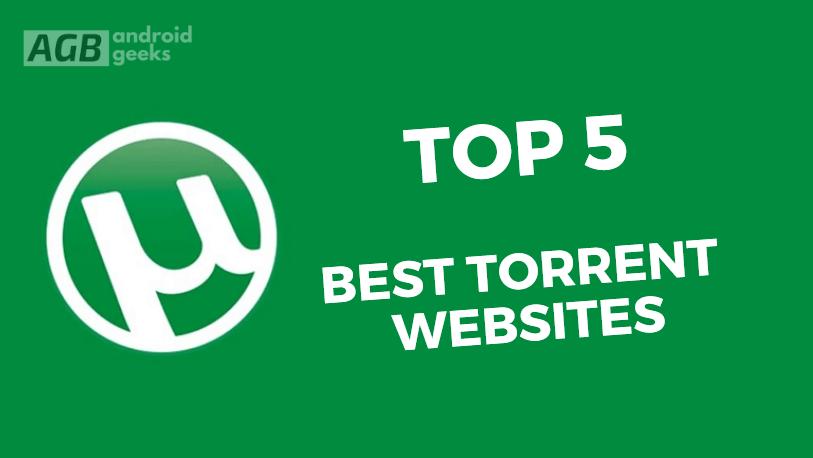 Top 5 Best Torrents sites