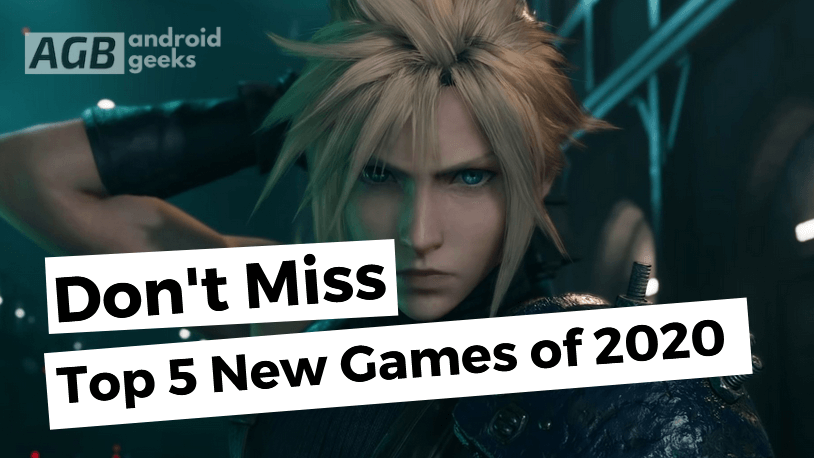 Top 5 New Games of 2020