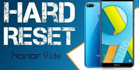 How to Reset Huawei Honor 9 Lite [Factory Reset / Hard Reset] 41