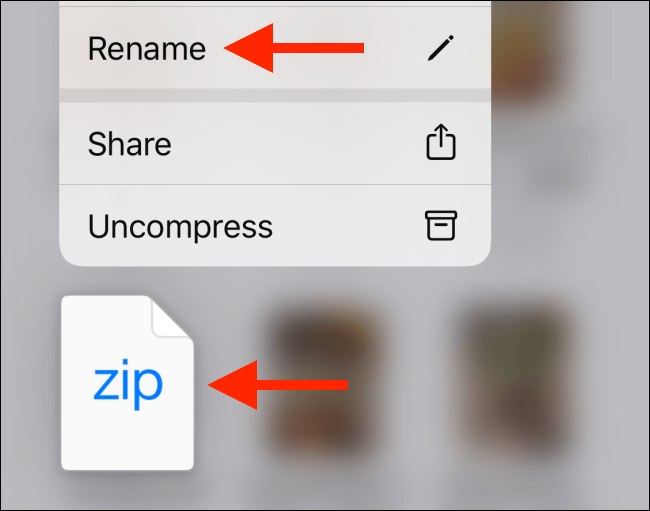 How to Zip and Unzip Files on iPhone and iPad Easily 5