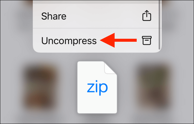 How to Zip and Unzip Files on iPhone and iPad Easily 8
