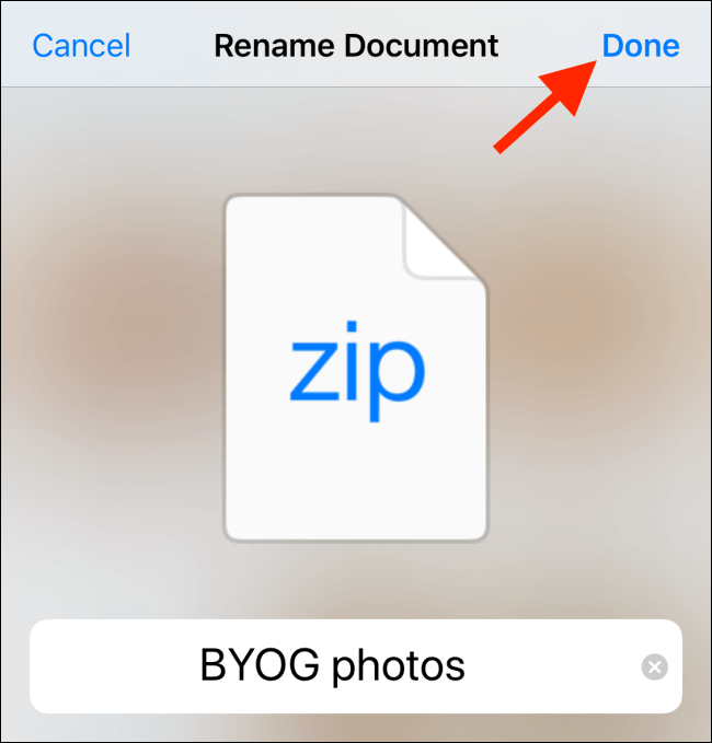 How to Zip and Unzip Files on iPhone and iPad Easily 6