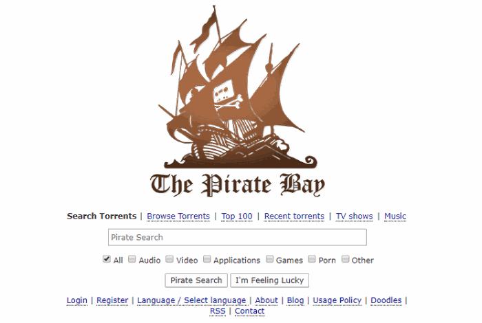 pirates bay- best torrent sites