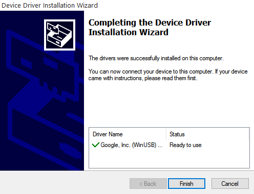 Device Driver Installation