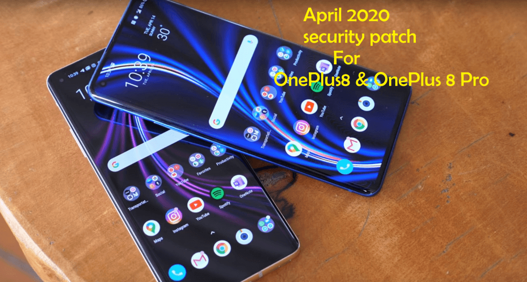 April 2020 security patch for OnePlus